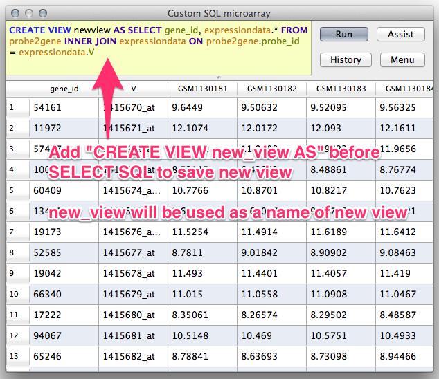 Hyokai Table Viewer For Big Data Analytics